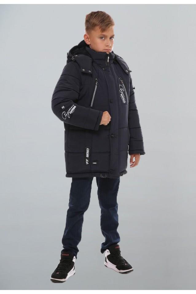 Зимняя куртка «Дилан» с наушниками
