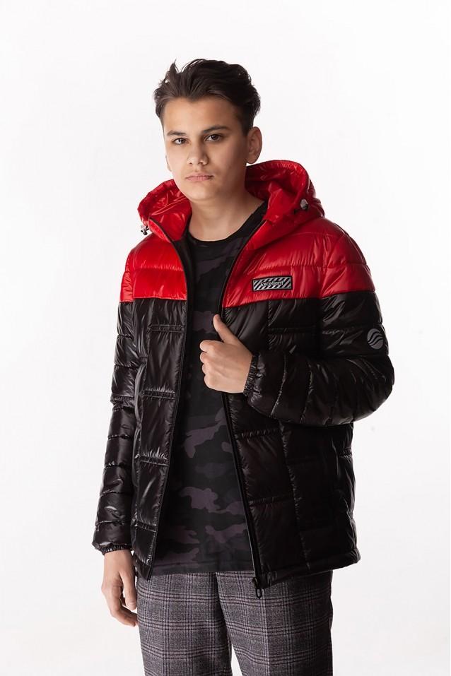 Демисезонная куртка «Ден» (Плащевка)