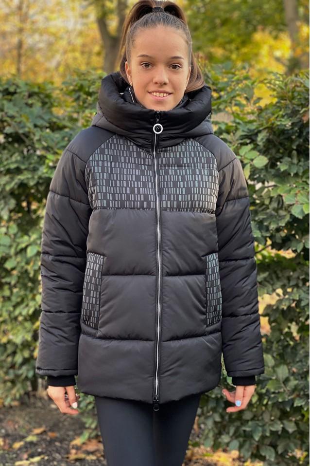 Зимова куртка для дівчаток «Star»