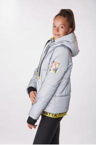Демисезонная куртка - светоотражайка