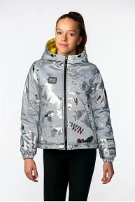 Стильная двухсторонняя светоотражающая куртка