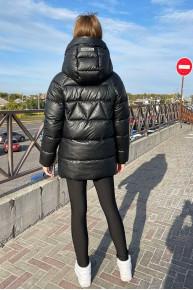 Зимова куртка з екошкіри Auris