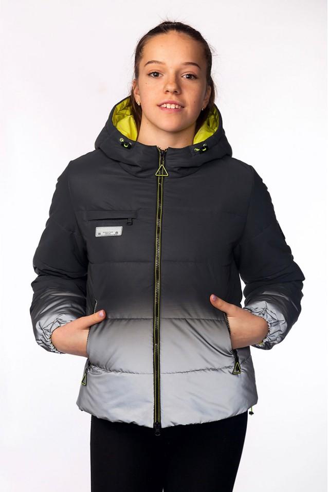 Демісезонна світловідбиваюча куртка Брітні