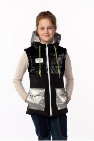 Удобная куртка и жилетка Мишель